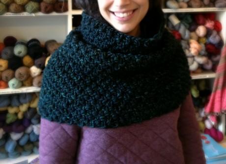 Last Minute Christmas Knitting with Malabrigo Mecha at Loop!