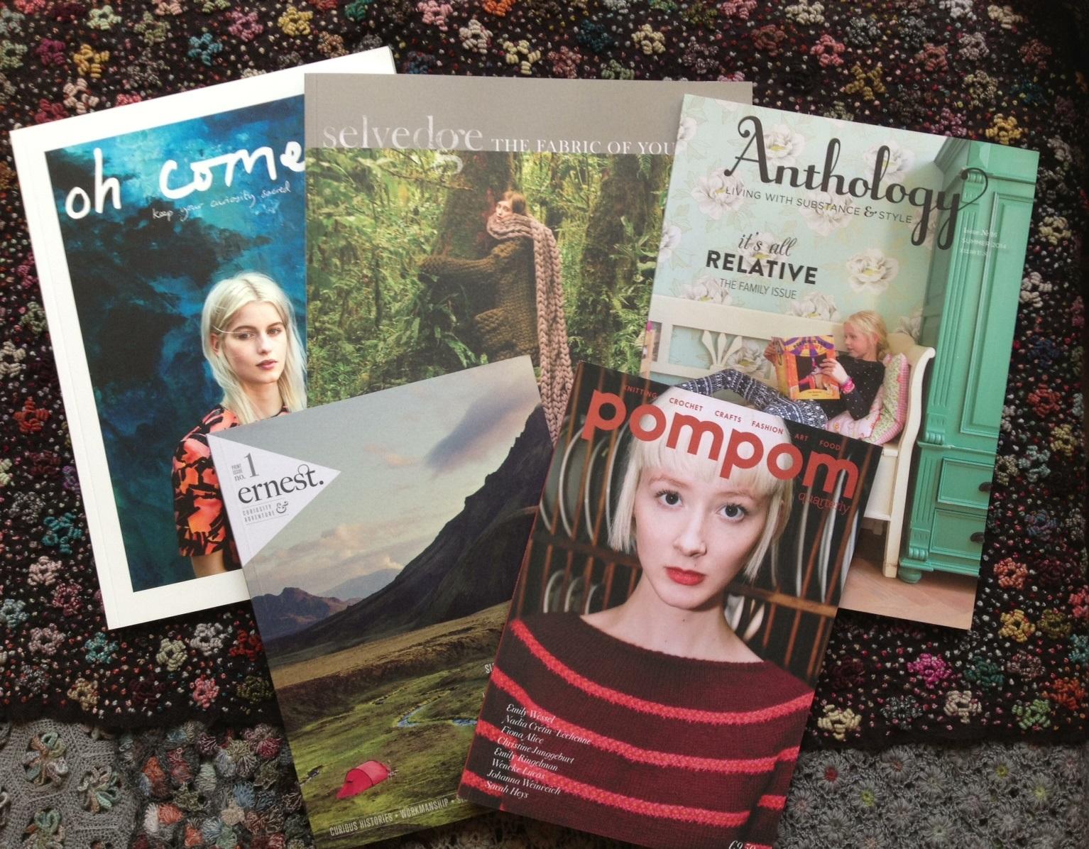 Magazines to inspire