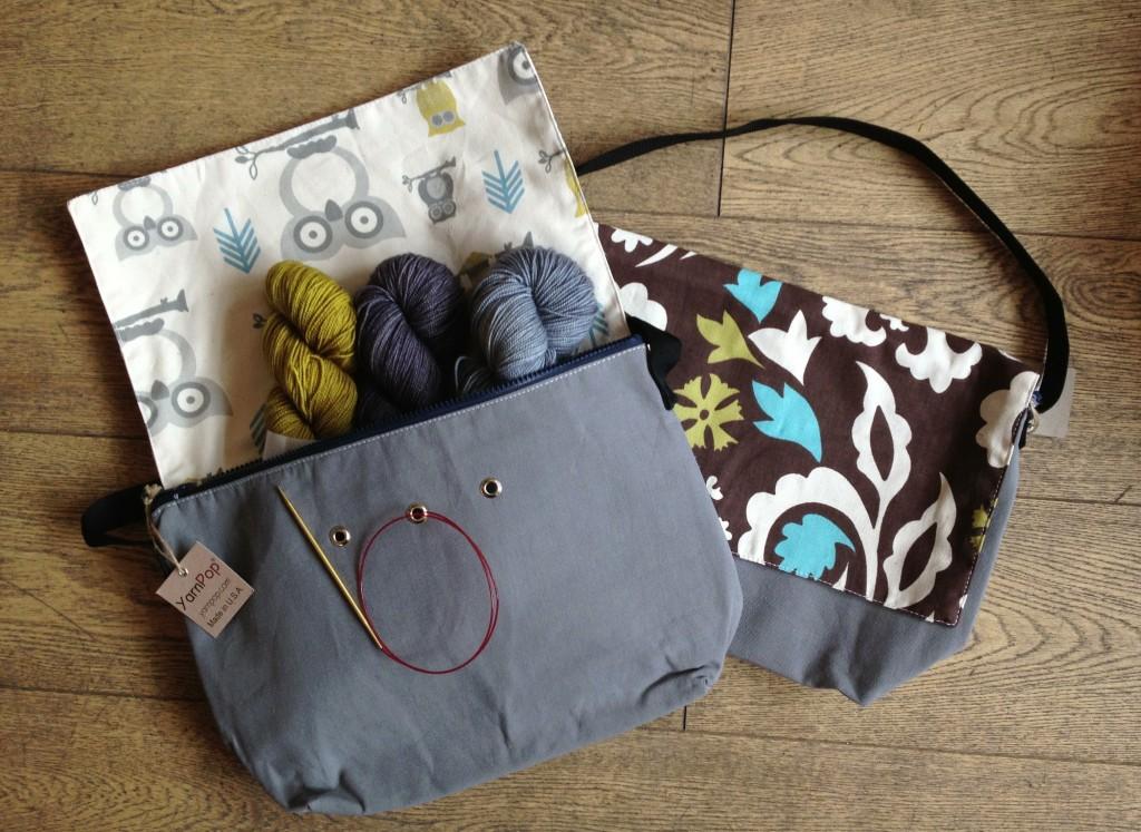 Yarn Pop Bag with Uncommon Thread Tough Sock. Loop, London