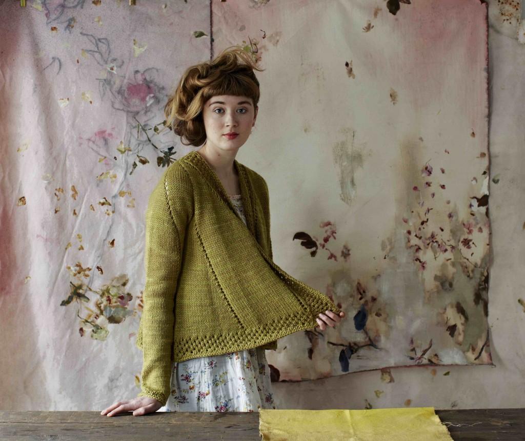 Teazel Cardigan by Bristol Ivy for Loop, London in Shalimar Breathless Cush. Loop, London