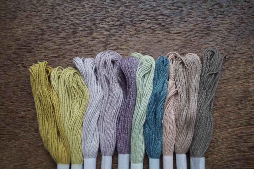 Temaricious Hand Dyed Cotton Threads, Custom Colour for Loop! Islington