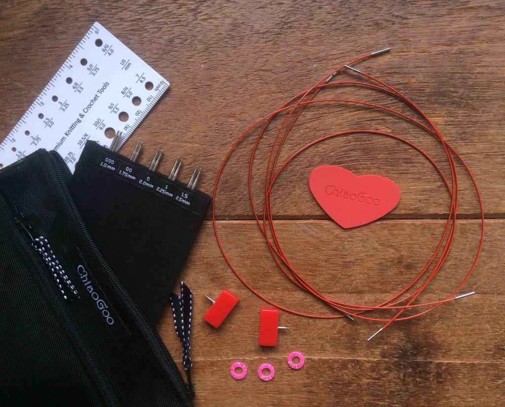 Chiaogoo Mini Interchangable Needles. Loop, London