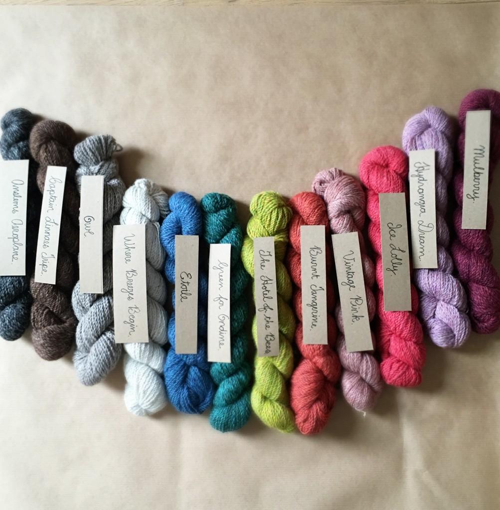 Loop Alpaca Tweed - All the Colours!