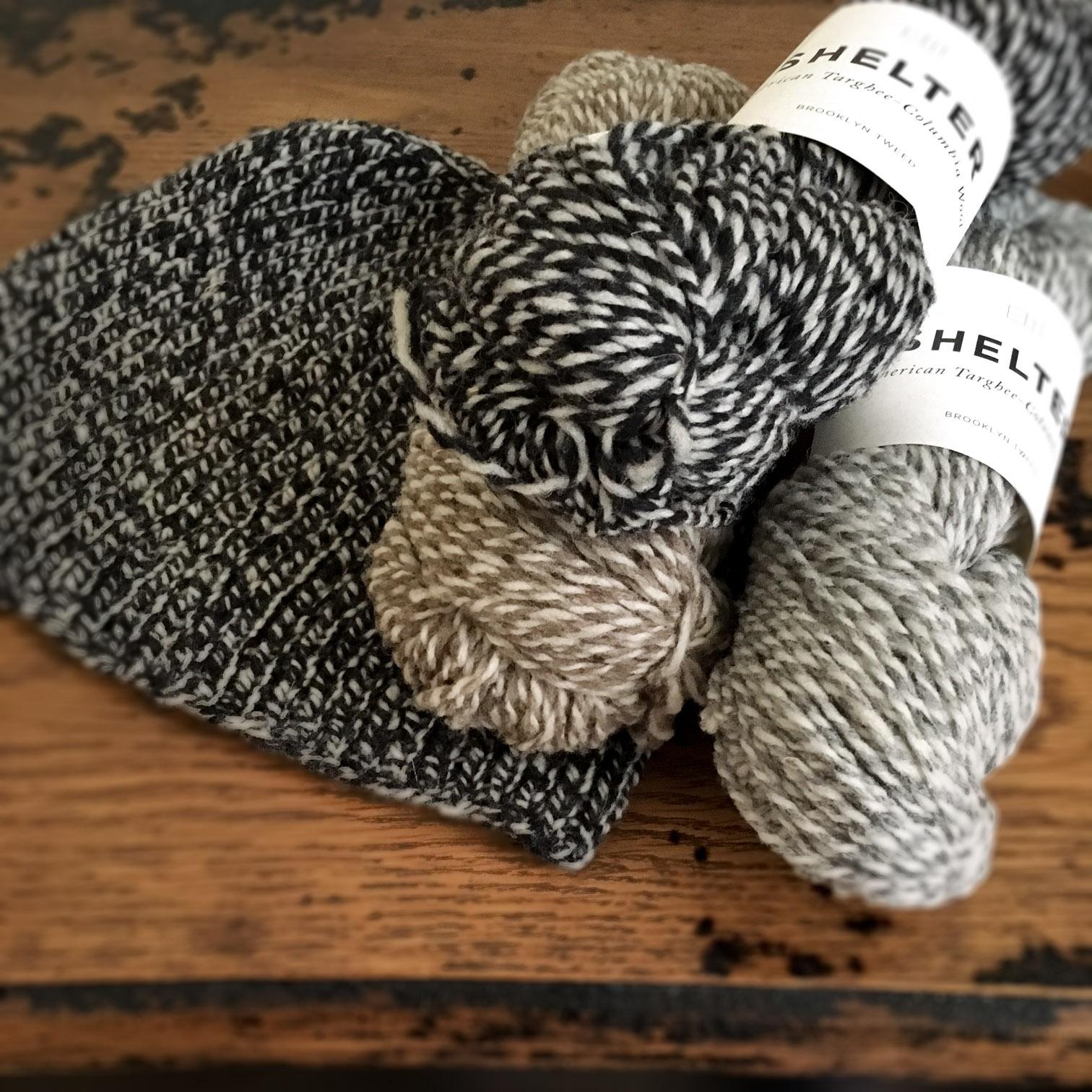 Introducing: Shelter Marls by Brooklyn Tweed