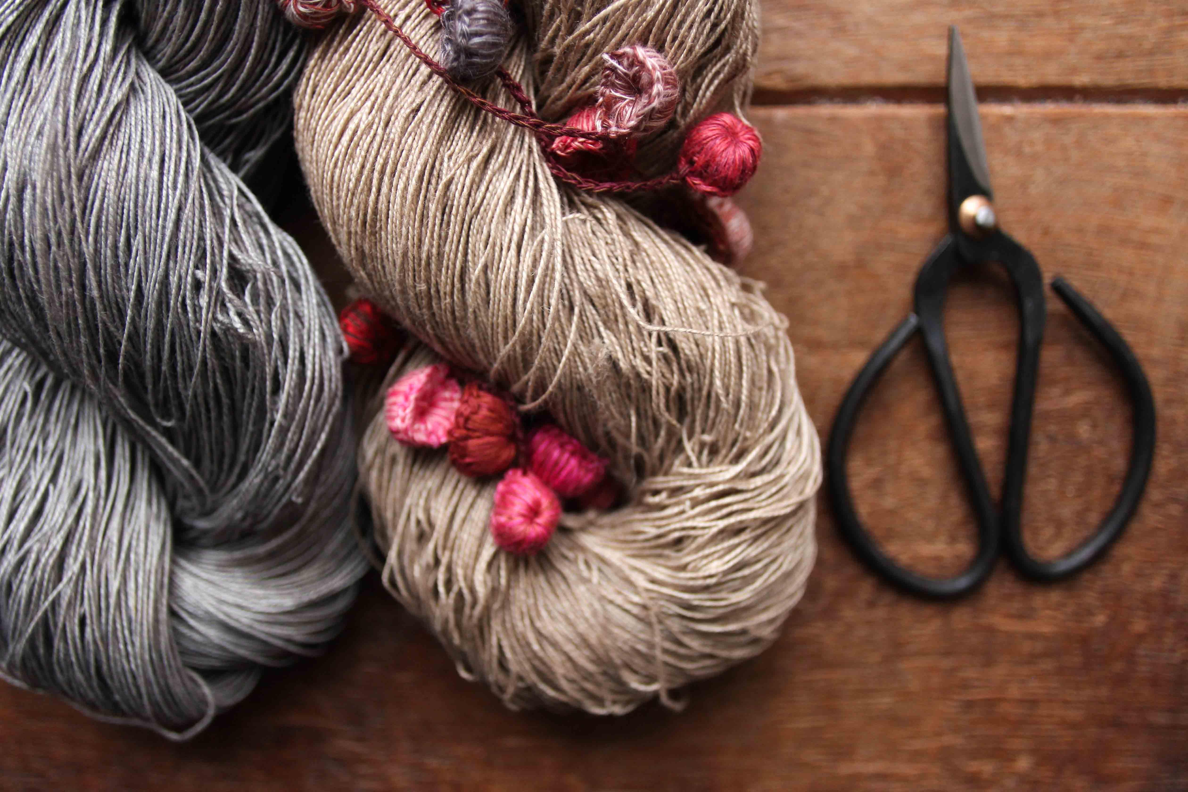 Linen Lace by Artisan Yarns at Loop London-12