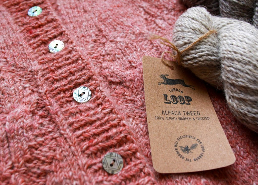 Loop Alpaca Tweed at Loop London