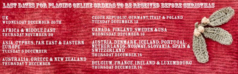 parcel delivery dates