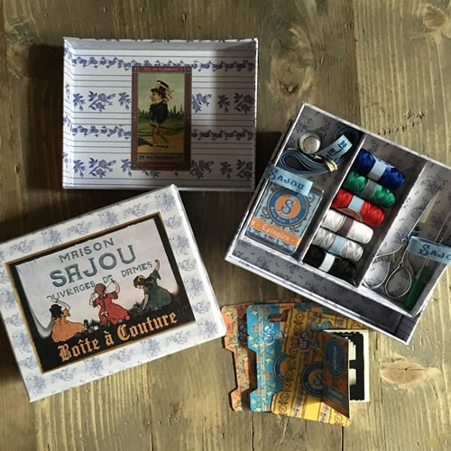 Sajou complete small sewing box at Loop London