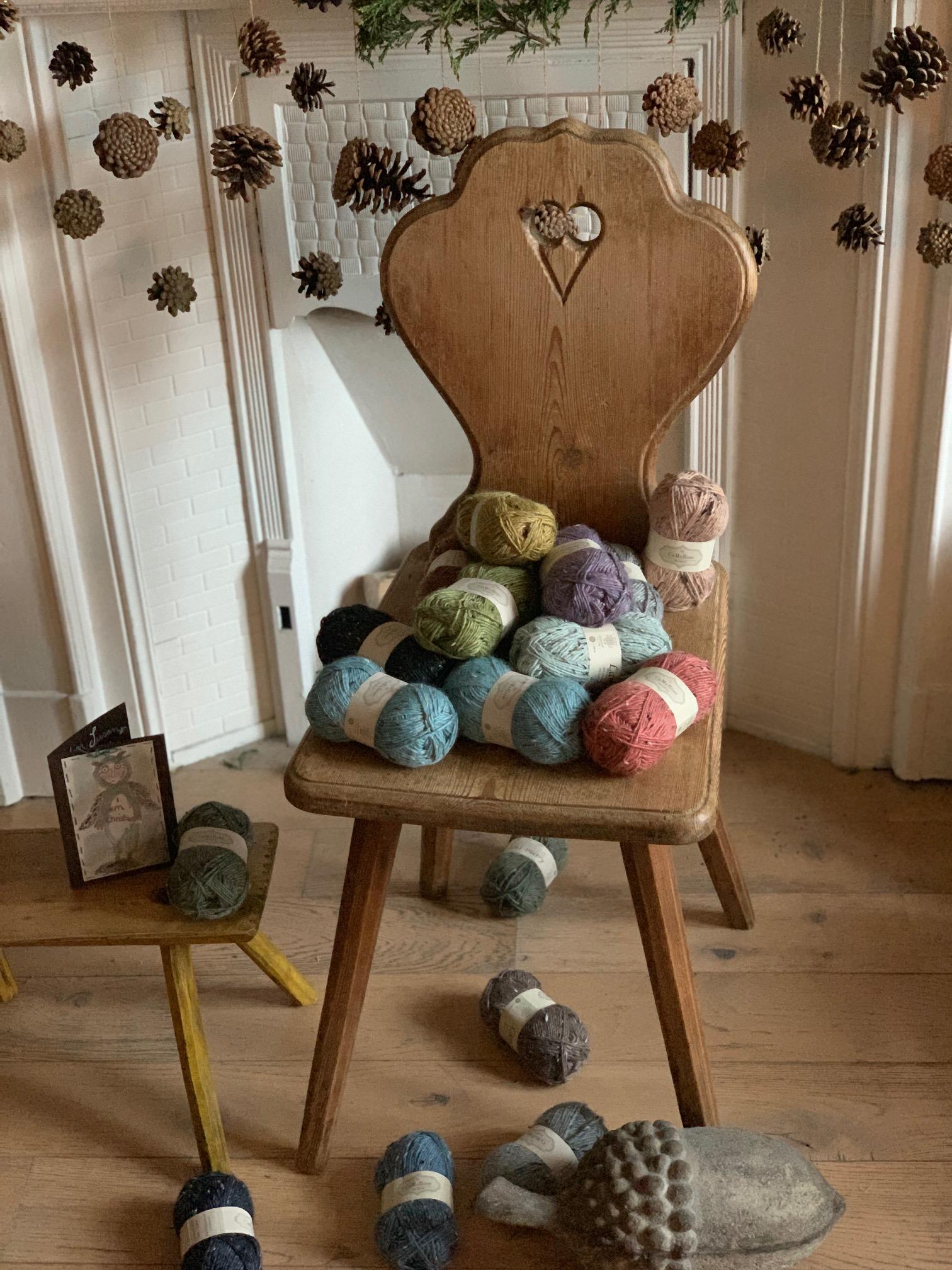 CaMaRose Lama-tweed – instant cosiness!