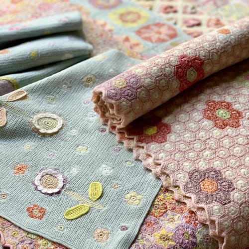 Sophie Digard Spring 2019 shawls at Loop London