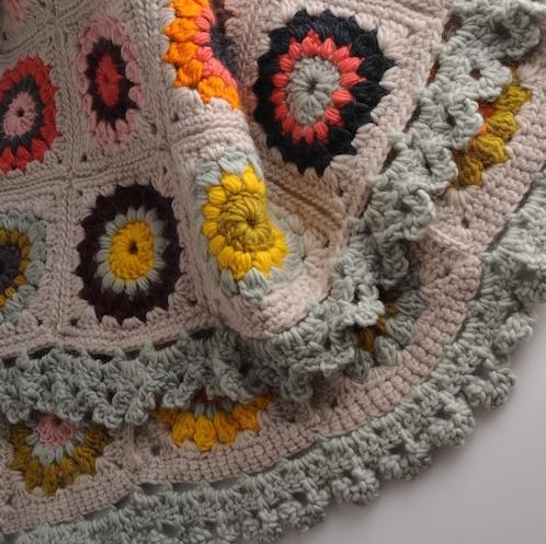 Sunburst Granny Blanket at Loop London