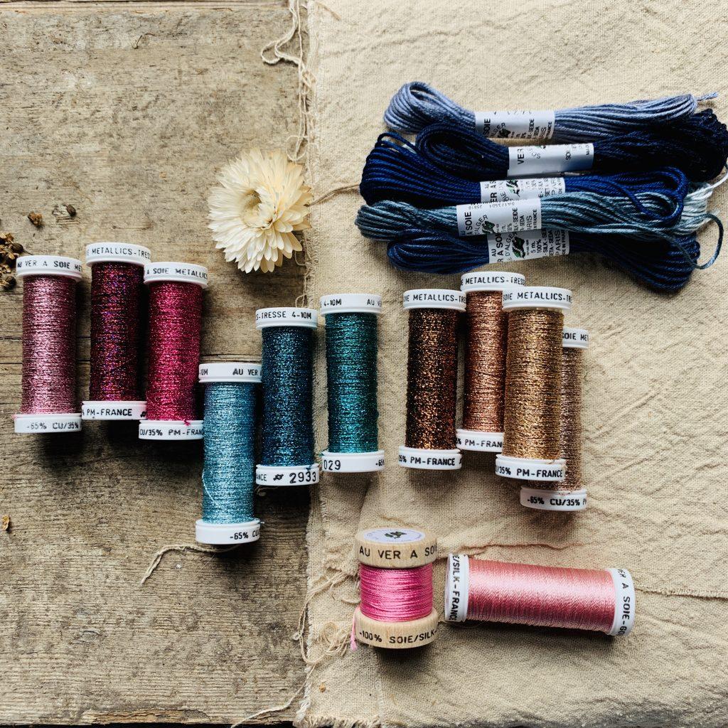 Au Ver A Soie silk threads at Loop London