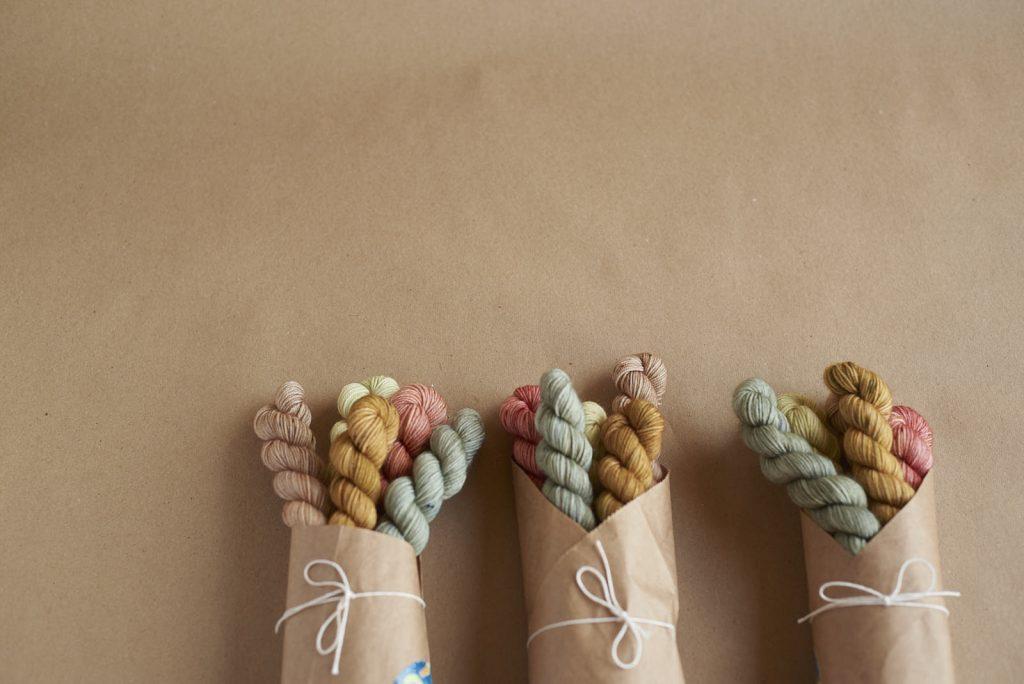 Viola sock minis at Loop London