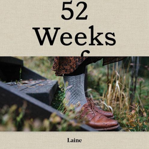Laine 52 weeks of socks at Loop London
