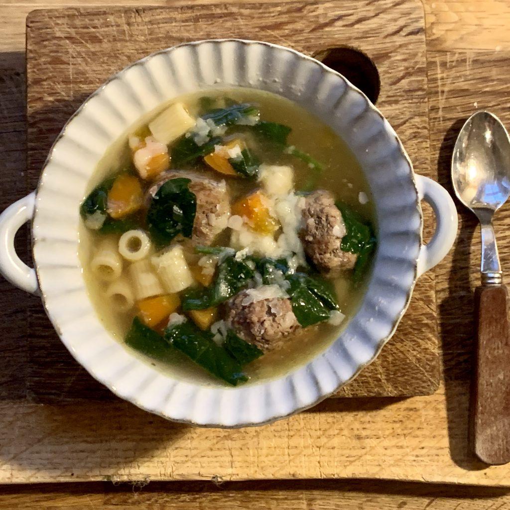 Susan's comfort soup at Loop London