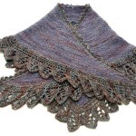 The Crow Waltz Shawl with Old Maiden Aunt