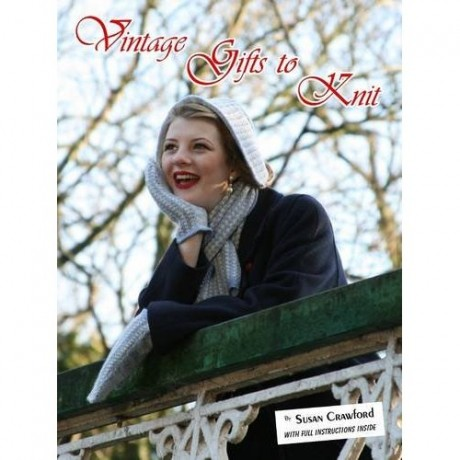 "Susan Crawford's new book ""Vintage Gifts to Knit"""