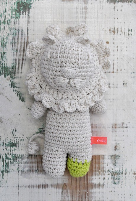 Miga de Pan's crochet lion