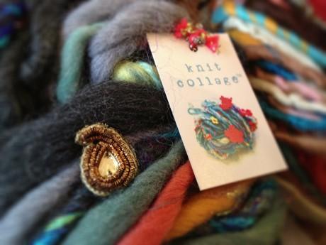Knit Collage yarn at Loop