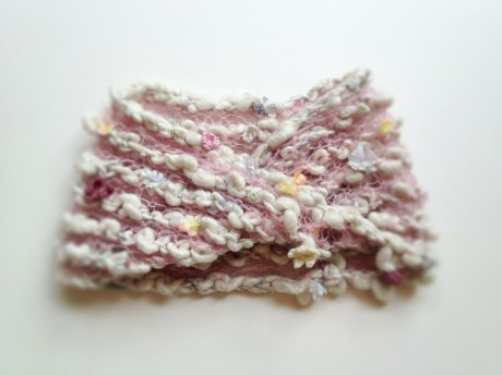 Loop Knit Lounge: Knit Collage Candy Cowl
