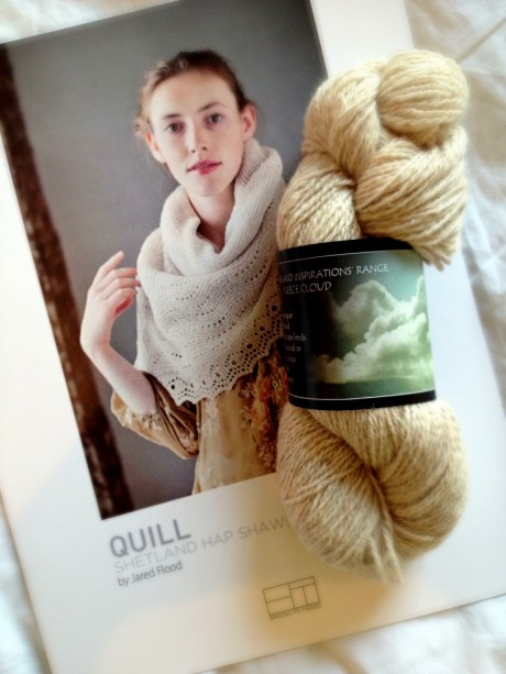 Quill Pattern & Shilasdair 4-ply Yarn