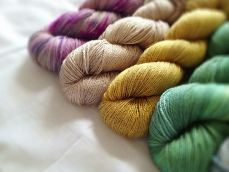 Loop Knit Lounge: Skein Merino Silk Sport