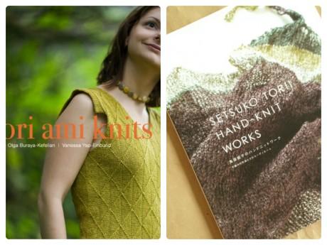 L: Ori Ami Knits, R: Hand Knit Works