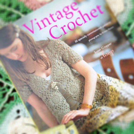 Vintage Crochet  - featuring Syd the Rabbit at the top of the post!
