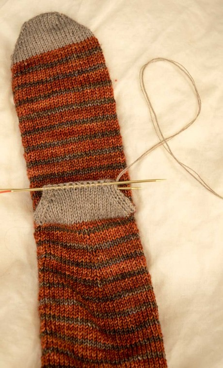 knitting-heel