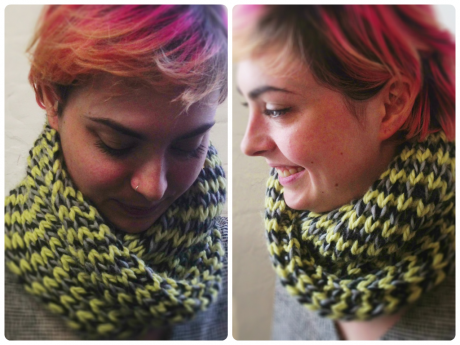 Loop Knit Lounge: Free Misti Chunky Cowl Pattern