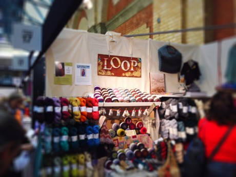 Loop London at the Knitting & Stitching Show 2013