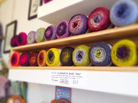 New Freia Handpaints Yarn at Loop!