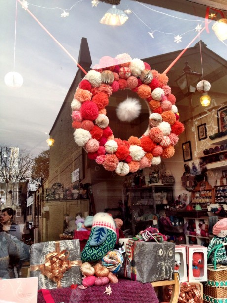 Christmas Window at Loop, London!
