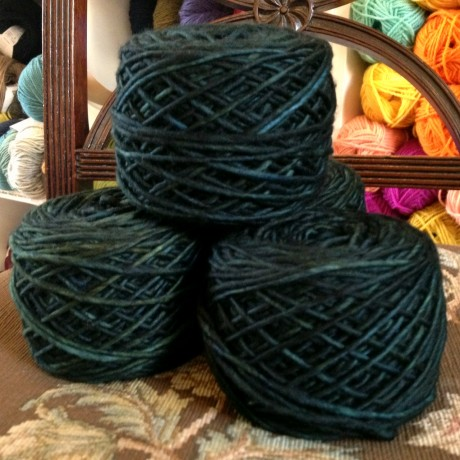 Last Minute Christmas Knitting with Malabrigo Mecha at Loop!