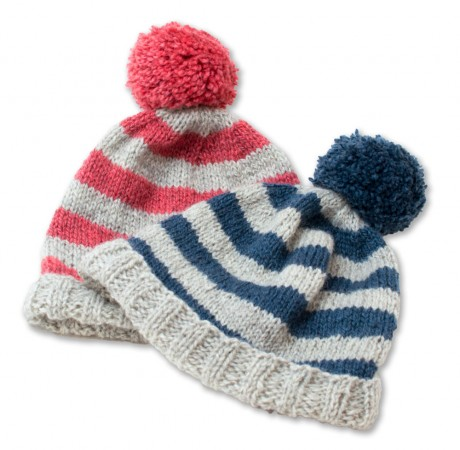 Sophie's Hat: Free Beginner Hat Pattern on Loop Knit Lounge