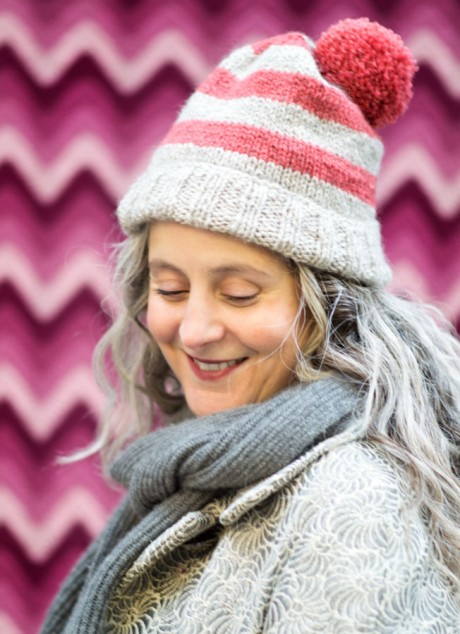 Sophie Hat - Free Beginner Hat Pattern from Loop, London