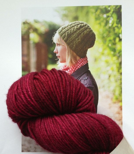 Irving by Brooklyn Tweed. Lust in The Uncommon Thread, Lush Worsted