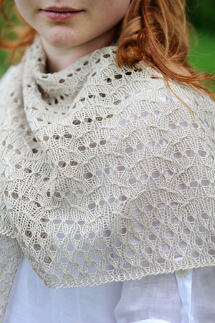 Lida Shawl -by Bristol Ivy. © Carrie Bostick Hoge