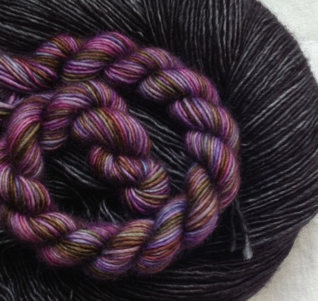 Unicorn Tail Cathedral and Merino Light Dirty Panther