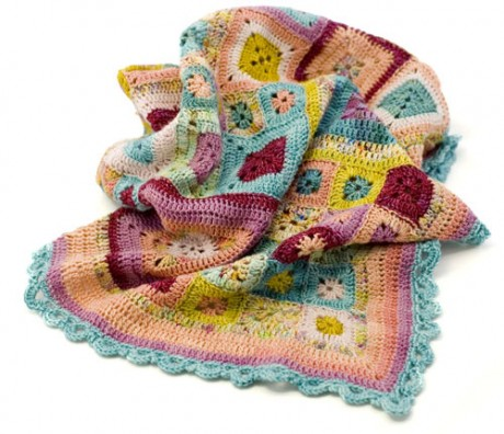 Babette Blanket by Kathy Merrick. Loop, London