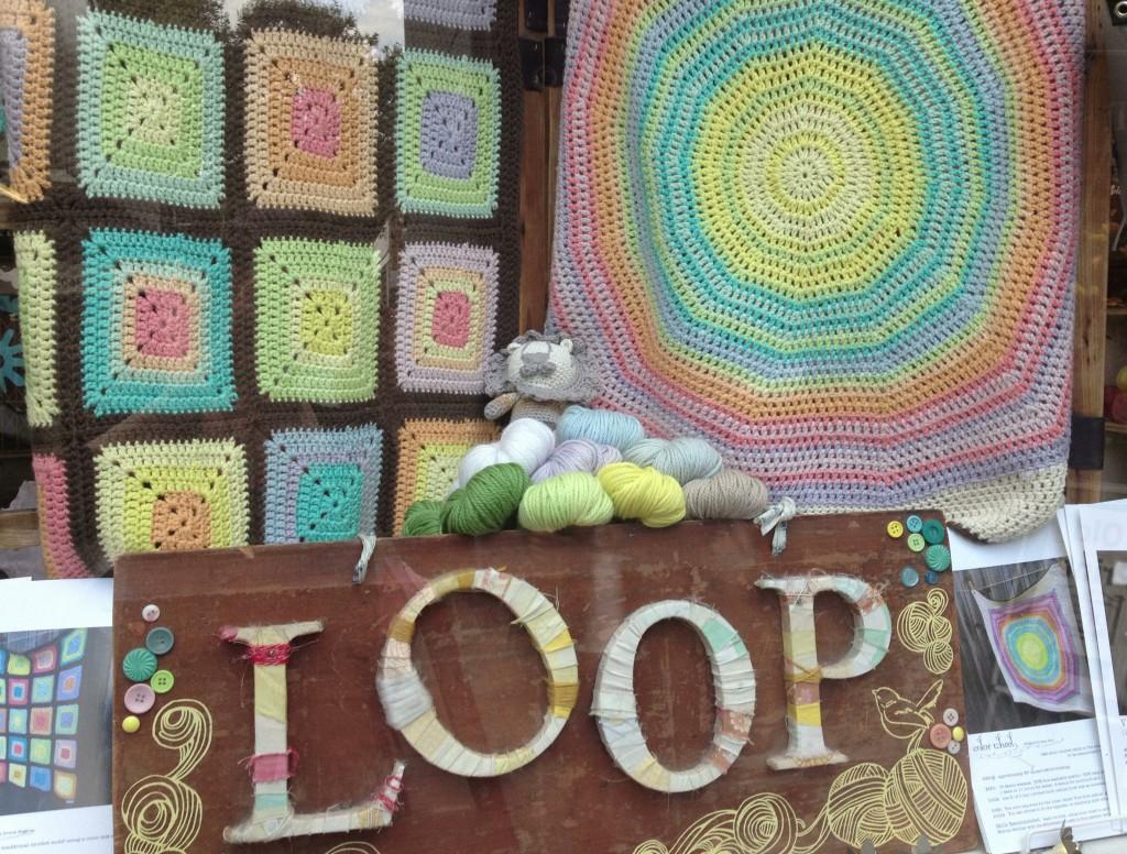 Big Bad Wool Weepaca At Loop! Window. Loop, London. www.loopknitlounge.com
