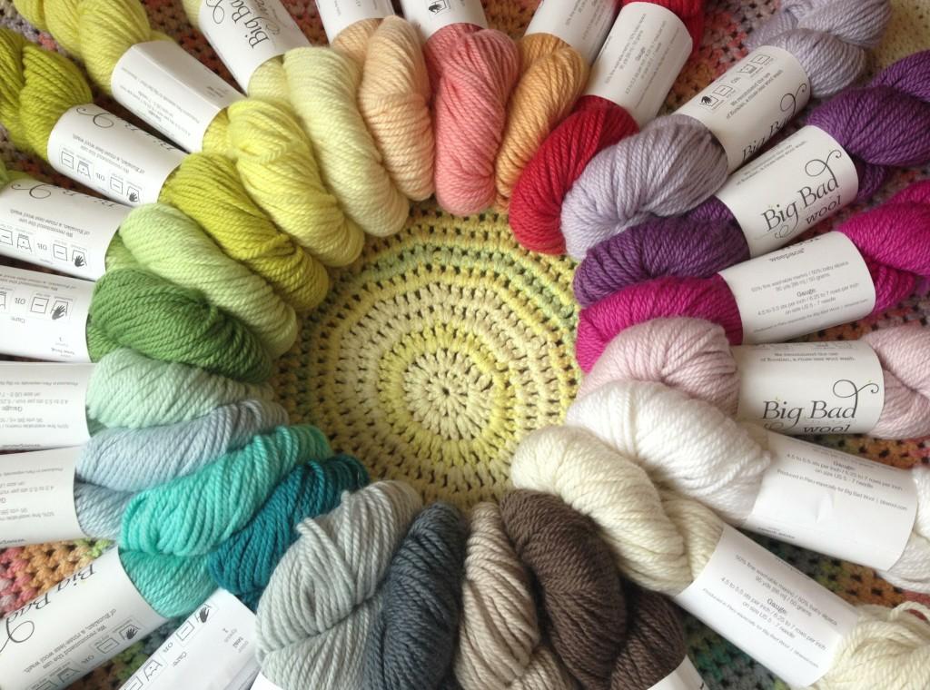 Big Bad Wool Weepaca at Loop. Loop, London. www.loopknitlounge.com