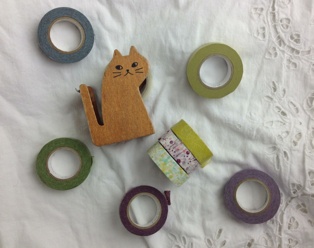 Washi Tape and Cat Tape Dispenser. Loop, London