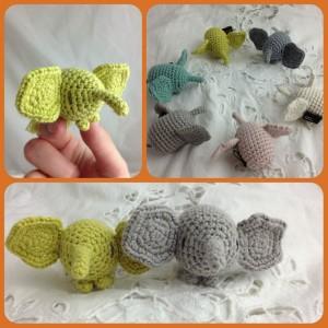 Christmas Wishlists At Loop! Elephantastic Miga Di Pan Mini Elephants. www.loopknitlounge.com Loop, London