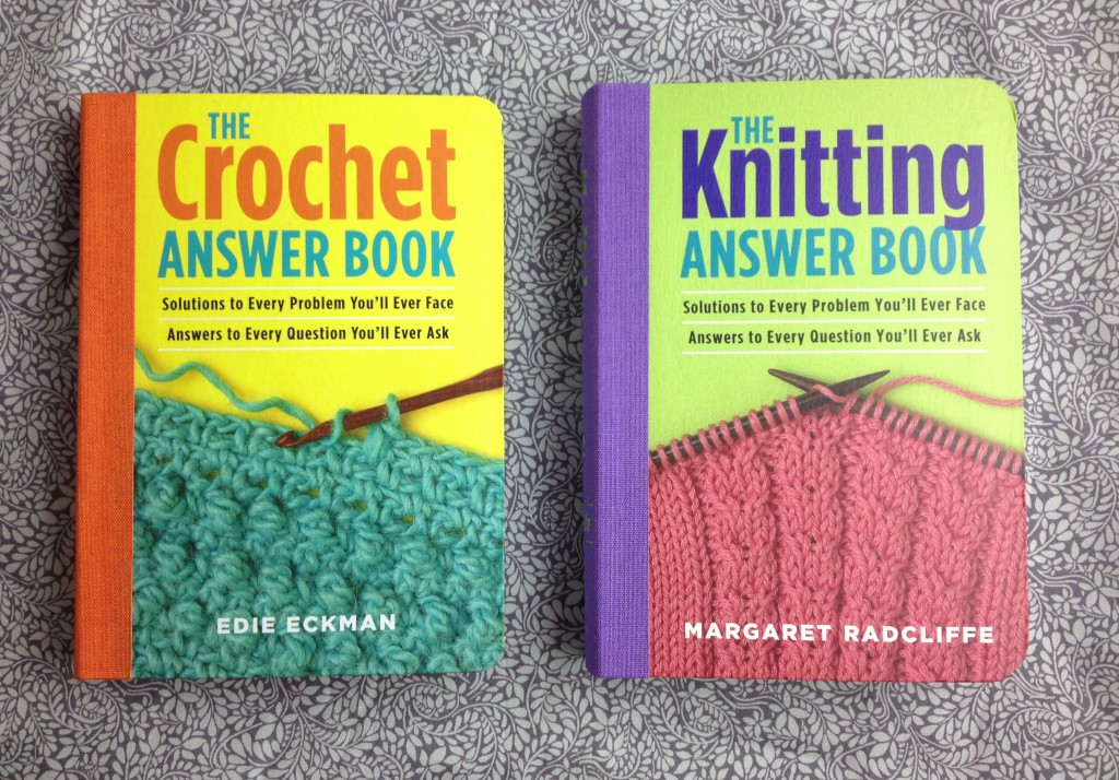Christmas Gift Ideas At Loop! The Knitting and Crochet Answer Books. www.loopknitlounge.com Loop, London