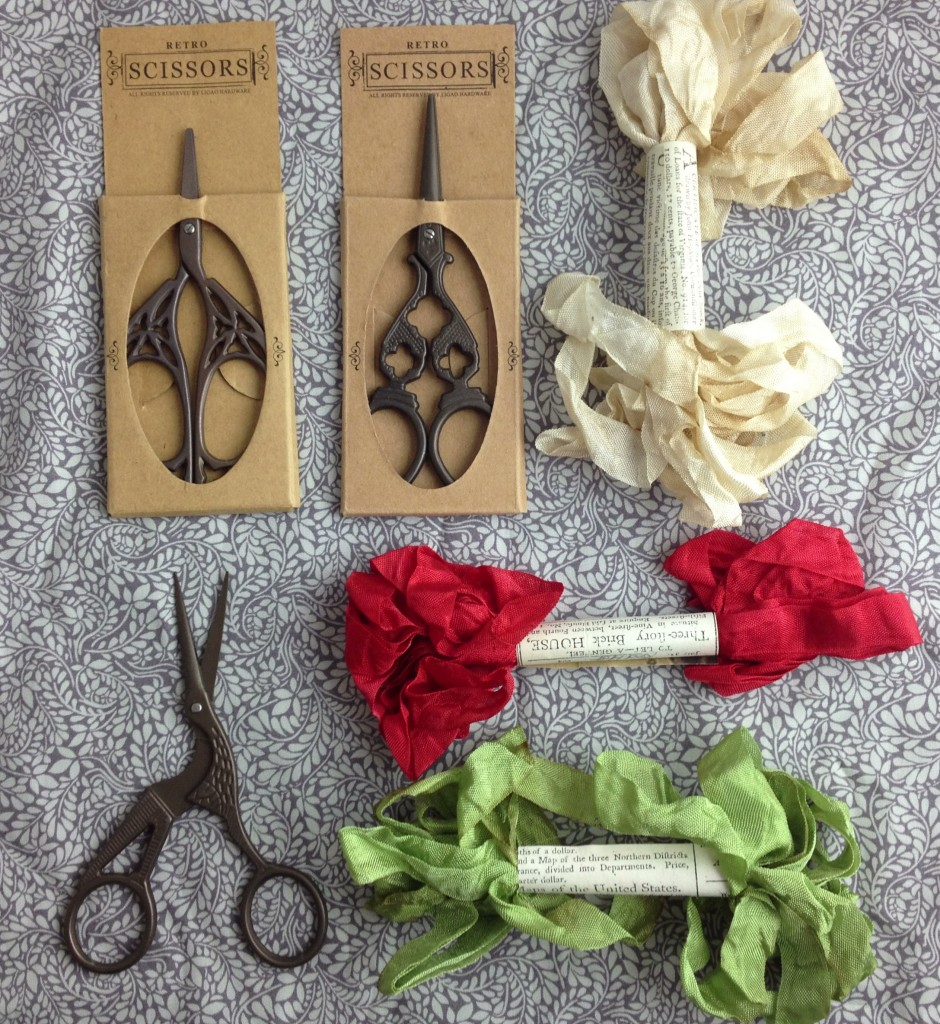 Christmas Gift Ideas At Loop! Yozo Scissors and Monaham Ribbon. www.loopknitlounge.com Loop, London