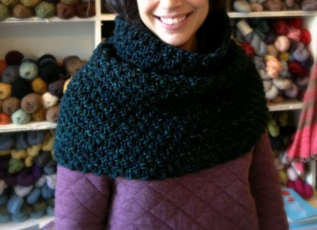 Chunky Seeded Cowl in Mecha Vaa