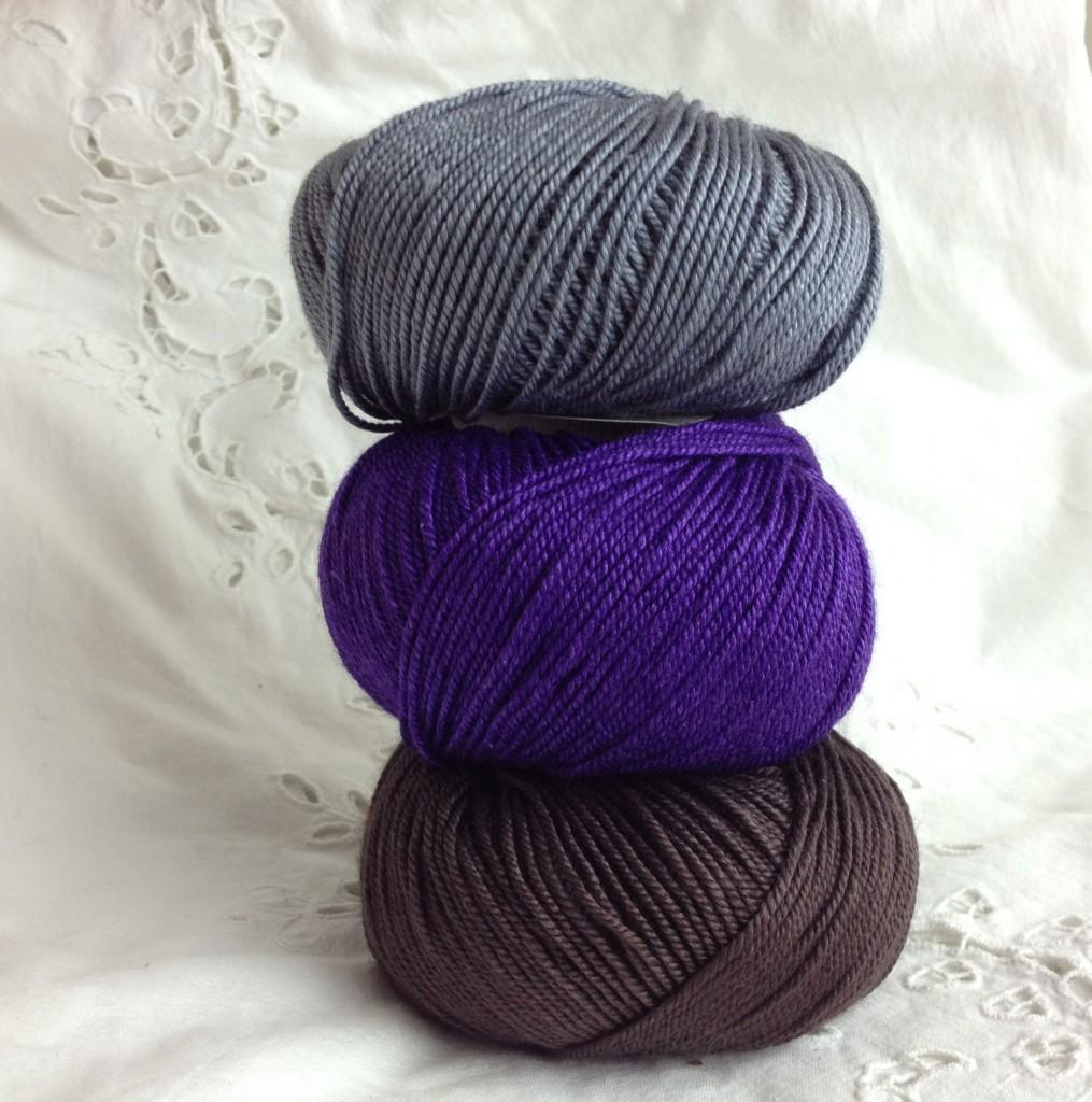 22 Grey, 10 Purple Petunia, 12 Cocoa,