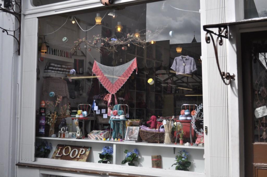 Spring Window at Loop with Cowgirlblues. Loop, London. www.loopknitlounge.com .JPG