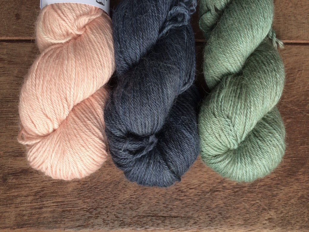 Old Maiden Aunt in (L-R) Blossom, Lon-dubh (Blackbird) and Kelpie